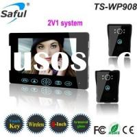 Saful TS-WP908 2V1 2.4GHz Digital 9 inch Wireless Video Door Phone