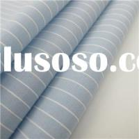 Cotton Yarn Dyed Stripe Textile Fabric For Shirt Stripe