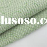 100% Cotton Jacquard Fabric Green