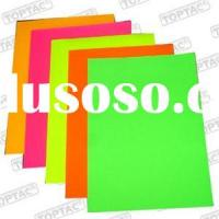 Fluorescent Sticker Paper