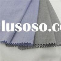 Cotton Yarn Dyed Spandex Chambray Fabric