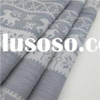 100% Cotton Jacquard Fabric Deer Pattern