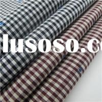 Yarn Dyed Jacquard Fabric With Gingham
