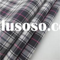 100% Cotton Yarn Dyed Check Fabric Hotsale For Men
