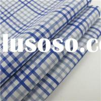 Wholesale 100% Cotton Shirt Fabric Plaid Design