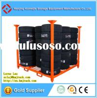 Manufacture Price ISO Approved Stacking Rack Tire Rack For Tyre