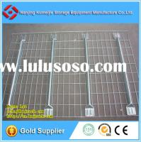 Galvanized Welded Flare Channel Wire Mesh Decking for Pallet Rack
