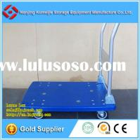 Hot Sale Folding Plastic Platform Hand Cart For Material Handling Solutions