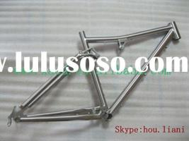titanium full suspention bike ...