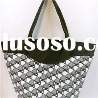 EMBOSSED PVC BEACH BAG,SHOPPING BAG, TOTE BAG BE15152