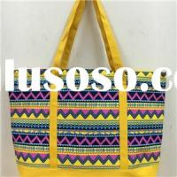 RETRO POP PRINTING CANVAS BEACH BAG, SHOPPING BAG, TOTE BAG BE15102A