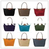 LONG CHAMP STYLE,SOLID COLOR SHOPPING BAG