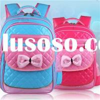PU BAKCPACK, SHINING PU SCHOOL BAG, BOW TIE BACKPACK,CP15021