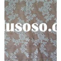 W9019 Polyester Off White Bridal Lace Fabric For Wedding Dress(W9019)