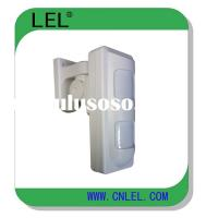 Outdoor waterproof motion detector with PIR and microwave detection