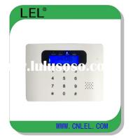 2 wired zones and 99 wireless zones GSM alarm system