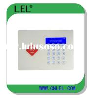 Wireless home security alarm system compatible with CID