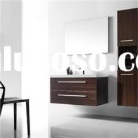 E1 Particleboard Or Plywood Or MDF Contemporary Bathroom Wall Cabinets With Mirrors