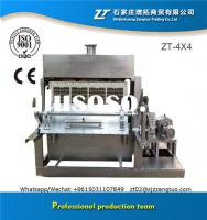 Long life machine egg tray machine with different mould