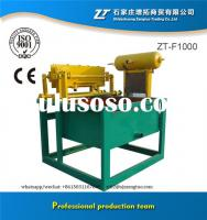 Low investment egg carton tray machine