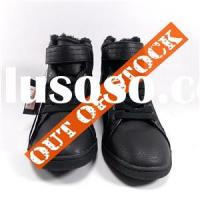Winter Thermal PU Shoes Boots for Women with Fur Inside Order Cancellation in China