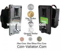 American Dollars coin selector...
