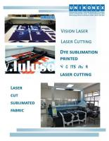 Dye sublimation printed fabric...