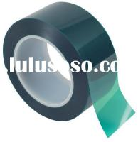 High Temperature Heat Resistant Green PET Polyester Tape For Masking Painting