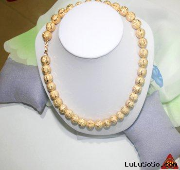 18k/24k gold plated gold necklace~attractive design+competitive price