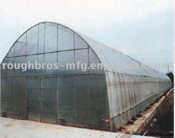 8m single span film tunnel greenhouse