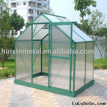 DIY and easy assembly  top-rated color and design green house kitsHX65212G