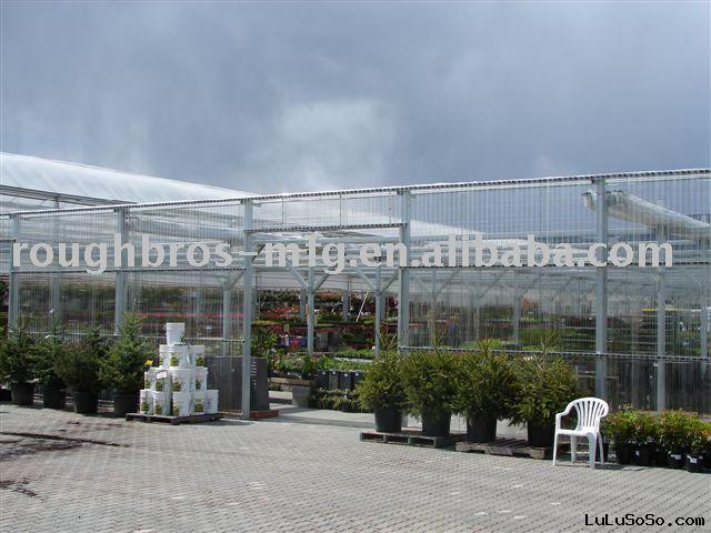 Flat Roof Greenhouse