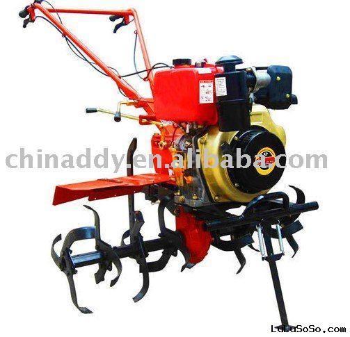 Gasoline engine mini tiller