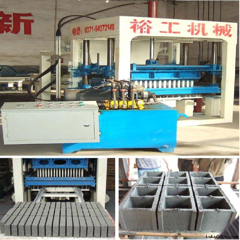 Hot sale in south africa!!!Hollow soil brick making machine,vacuum