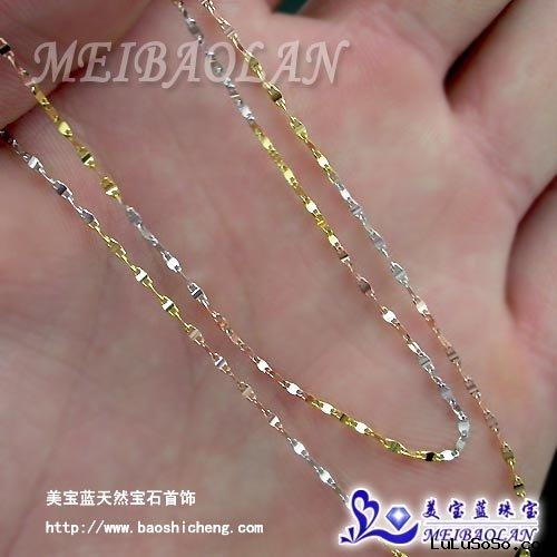 Jewelry,18K Gold Necklace(00072953)