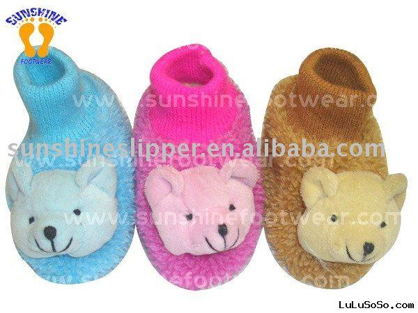 Plush Animal Slippers