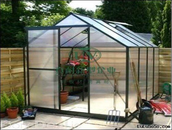 Polycarbonate green house