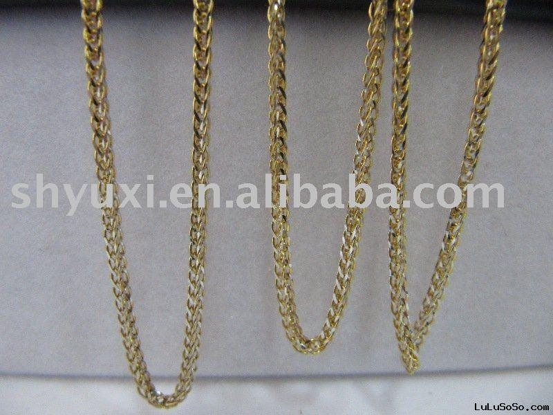 Wholesale 18k White gold Necklace Chain