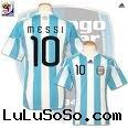 brand new 2010 world cup Argentina National Soccer Team > Argentina 09/11 Home Soccer Jersey