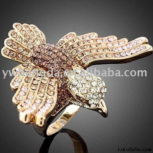 hawk yellow diamond  ring