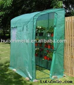 new design with tube frame tube greenhouse kits HX54021