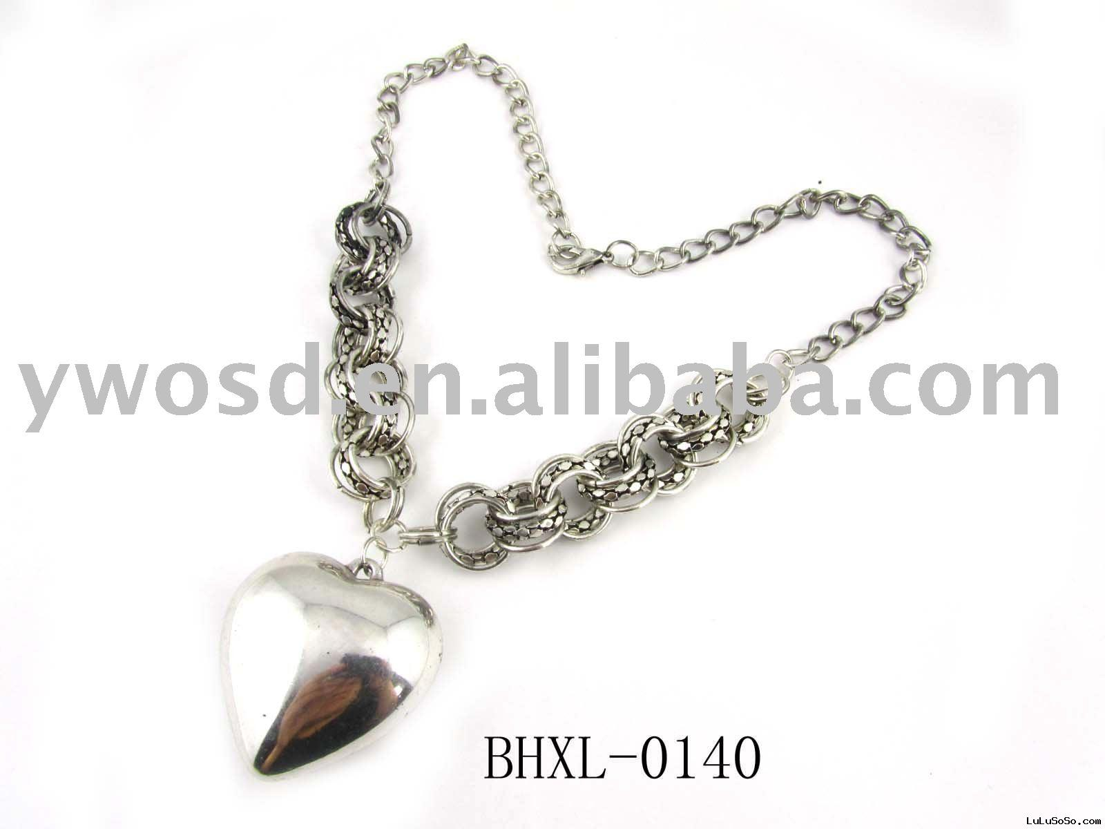 pandora heart charms necklace