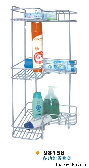 Corner-mounted rack, storage rack,spice rack