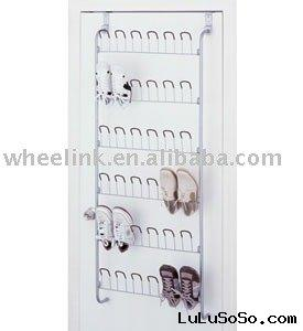 Over the Door Wire Shoe Rack