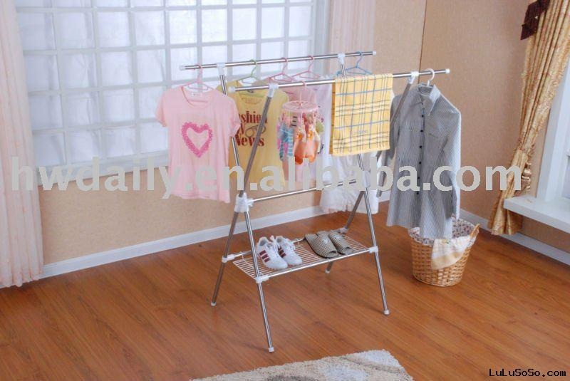 Portable clothes dryer rack