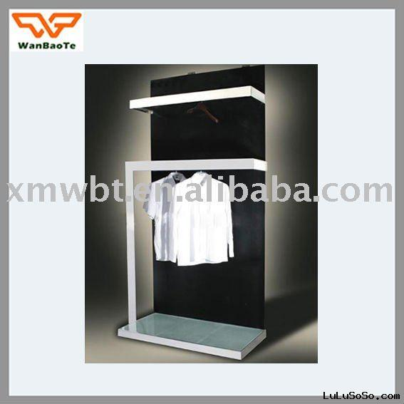 Unique Design of Metal Clothes Shelf Display Rack