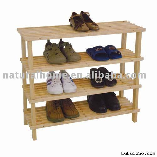Wooden Shoe Rack (KT27056-W)