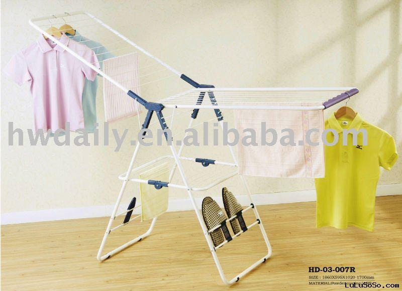 metal clothes rack with shoe rack