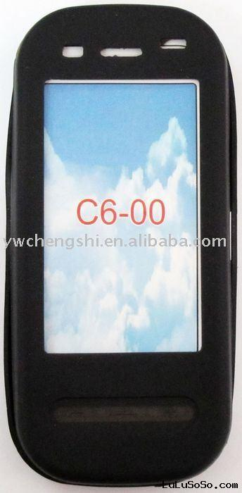 mobile phone soft silicone case for Nokia C6-00