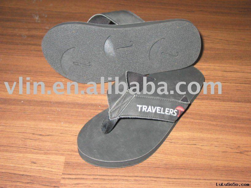 rubber beach slippers